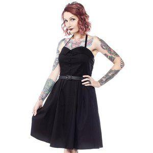 Sourpuss Spooksville Dress in Black